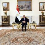 Egypt's president and Libya's top diplomat discuss joint cooperation