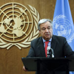 "Guterres warns of ""deteriorating"" humanitarian situation in Libya"