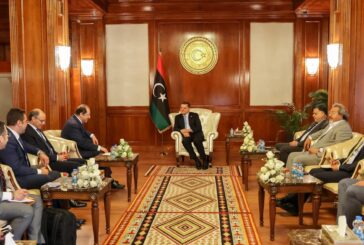 Libya's PM meets Egypt's intelligence chief in Tripoli