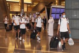 Libya's Football Team arrives in Doha for Arab Cup