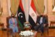 Chief diplomats of Libya and Egypt meet in Cairo