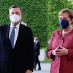 Germany, Italy discuss Libya conference
