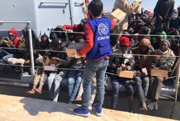 Libyan navy intercepts and returns 70 migrants