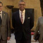 Dbeibeh meets British diplomat in London