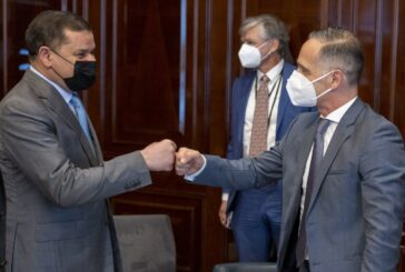 Germany's top diplomat meets Libyan PM, counterpart in Berlin