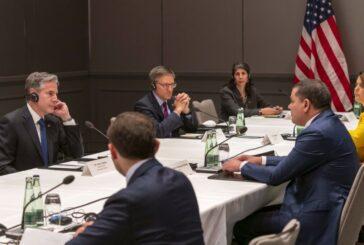 Libya PM, US Secretary of State meet on margins of Berlin talks