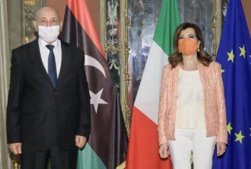 Libya's parliament speaker, Italy's senate president discuss bilateral relations