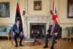 Libya's PM meets British counterpart in London