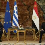 Greek PM, Egyptian president discuss Libya