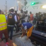 Libyan Navy: 201 immigrants rescued in the Mediterranean on a rubber boat