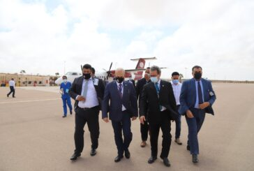 Oil minister, NOC officials inspect the work of Sirte Oil Company