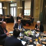 Egypt's FM, EU counterparts emphasize removing foreign forces, holding elections in Libya