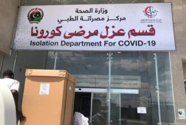 2171 new COVID cases in Libya and 22 deaths