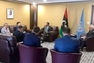 Operation IRINI commander discusses situation in Libya with American and Libyan officials