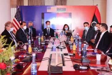Dbeibeh, US officials discuss trade and bilateral economic cooperation
