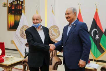 Haftar and Saleh discuss developments in Libya