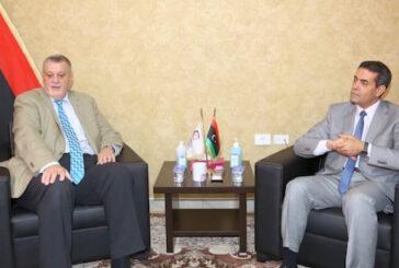 Libya HNEC Chair, UN envoy review preparations for December elections