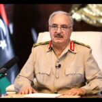 Haftar welcomes reopening the coastal road calling for removing foreign forces