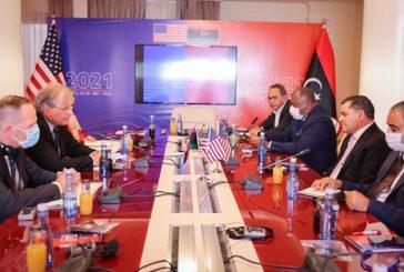 U.S. Ambassador and Libyan PM discuss budget and elections