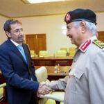 LNA Commander Haftar receives Italian Consul in Benghazi