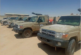 LNA supports its units in the Southeast with vehicles and weapons