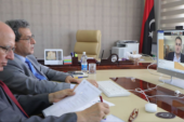 Oil Minister discusses oil sector in Libya with MEPC officials