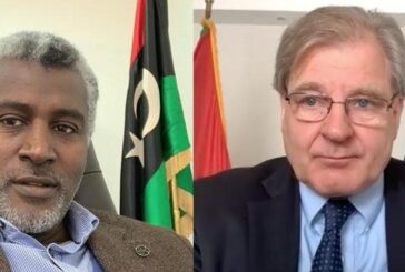 US Ambassador, Libyan Toubou leader discuss economic revival of southern region