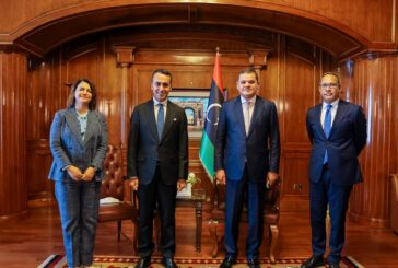 Dbeibeh, Di Maio discuss situation in Libya