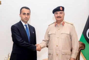 Haftar, Di Maio discuss latest developments in Libya