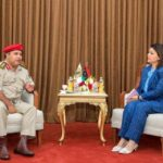 Libyan FM, LNA official discuss work of 5+5 JMC