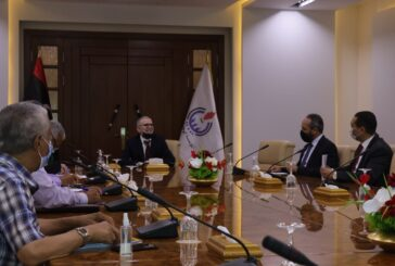 NOC, Libyan Foreign Bank discuss cooperation