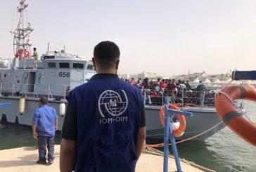 Over 800 migrants intercepted off Libya coast last week
