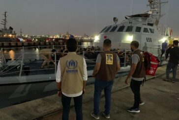 UNHCR: 120 migrants intercepted by Libyan Coast Guard