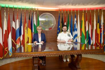 IRINI signs border security agreement with EUBAM Libya