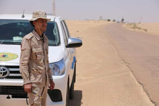 PHOTOS   LNA conducts security patrols in the Southeast to protect oilfields