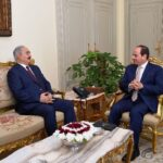 Haftar in Egypt to discuss the Libyan crisis