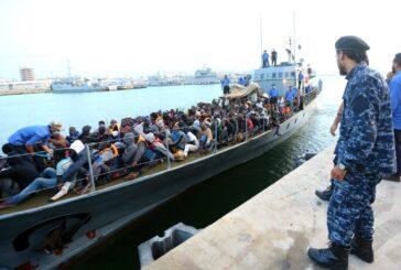 Libyan Coast Guard intercepts over 113 migrants