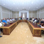 PHOTOS   Haftar meets with heads of Greater Benghazi councils