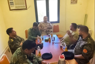 Commanders of LNA and Misrata forces meet for joint agreement on road security