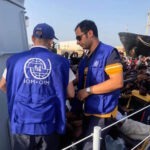 110 migrants intercepted at sea and disembarked in Tripoli