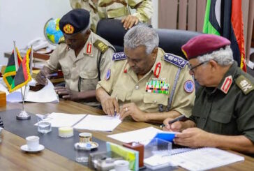 Jarushi receives duties as head of LNA Inspection Department