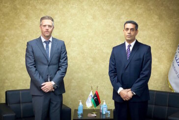 U.S. Embassy discuss its technical support for Libya elections with HNEC