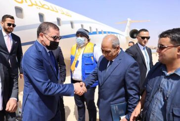 Dbeibeh arrives in Tobruk for parliament questioning