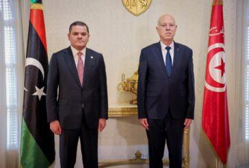 Libyan premier in Tunisia following recent strain in relations