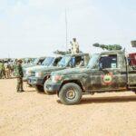 LNA forces conduct patrols across Libya's southern border