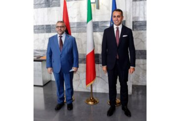 Di Maio insists on foreign forces withdrawal during meeting with HCS chairman
