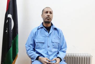 Release of Gaddafi's son