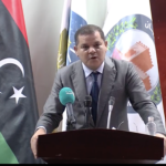 "Dbeibeh praises Gharyan ""historic"" role in Tripoli war"