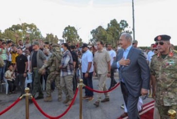 Haftar urges Libyan people to prepare for December elections