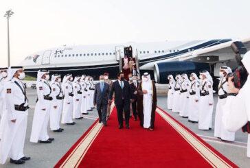 Libyan PC President arrives in Doha